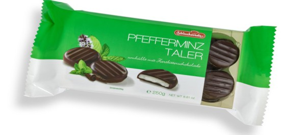 Peppermyntesjokolade